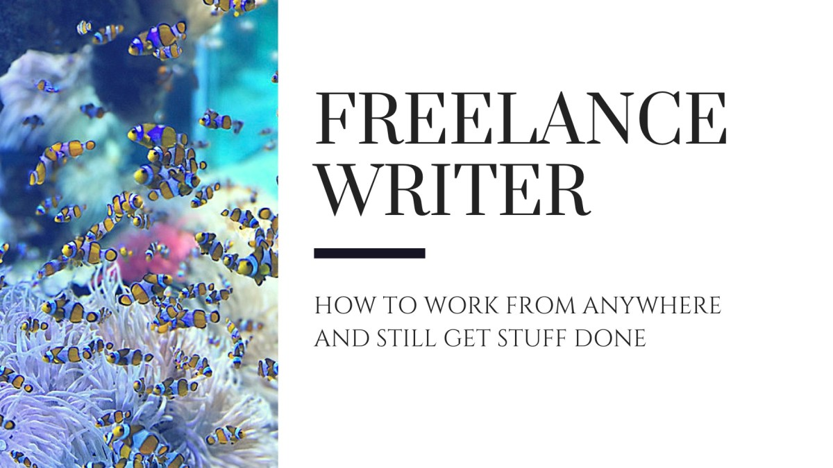 Freelance Writer: seven rules for working from anywhere and getting stuff done
