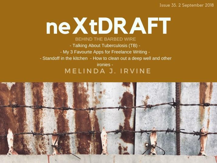 neXtDRAFT an eZine by Melinda J. Irvine Issue 35