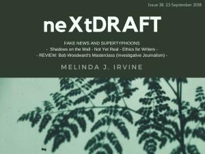 neXtDRAFT an eZine by Melinda J. Irvine Issue 38