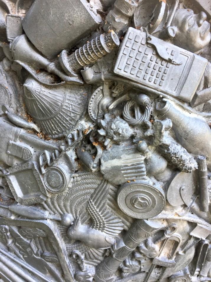 aluminium art