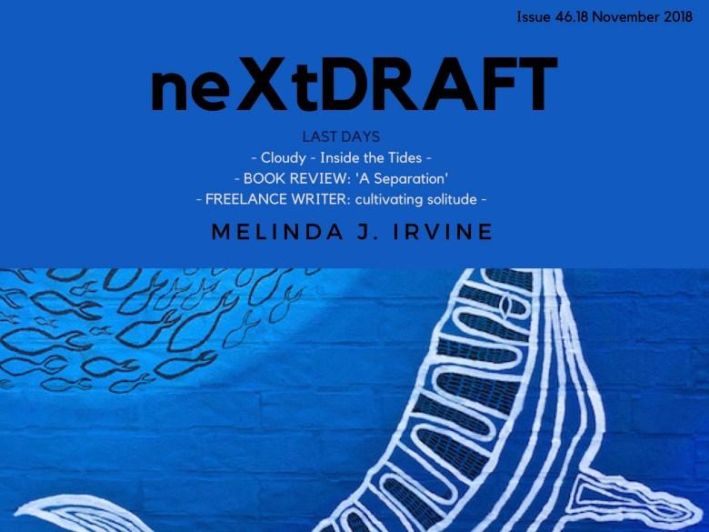 neXtDRAFT an eZine by Melinda J. Irvine Issue 46