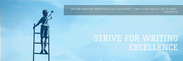 strive for writing excellence - Melinda J. Irvine