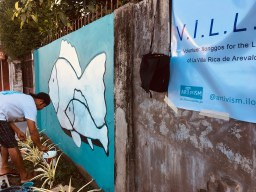 Artivism 2.0 art to save the ocean in Iloilo City