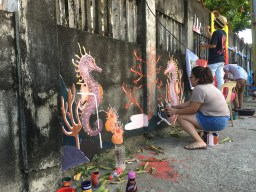 Artivism 2.0 art to save the ocean in Iloilo City4