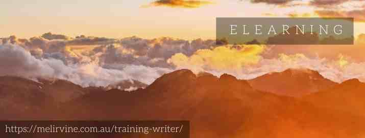 Melinda J. Irvine -- training writer on writingbiz.net