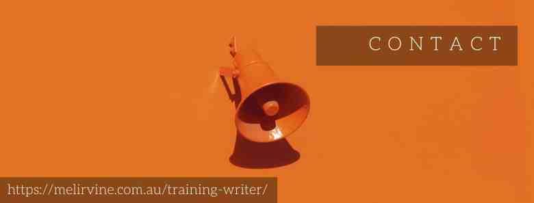 Melinda J. Irvine -- training writer3 on writingbiz.net