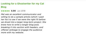 testimonial for melinda j. irvine (cat blog)