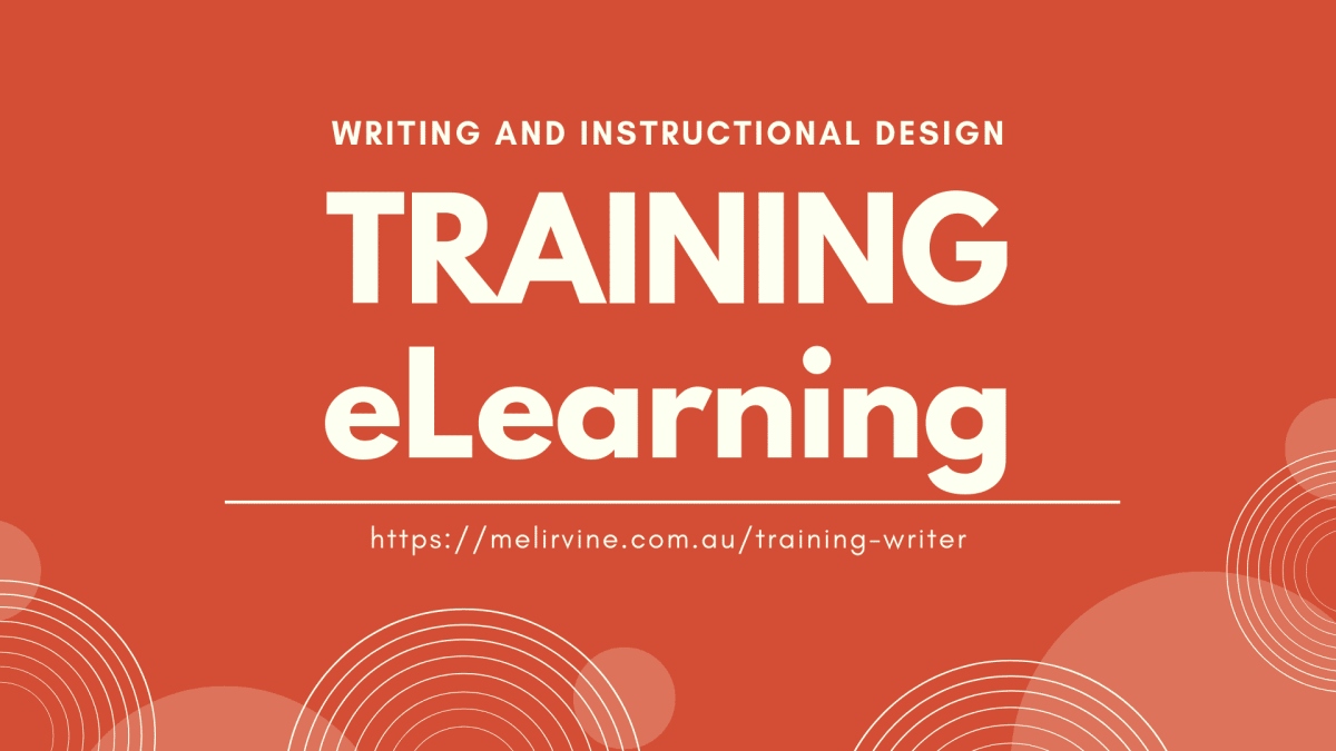 Writing and Developing Training Materials