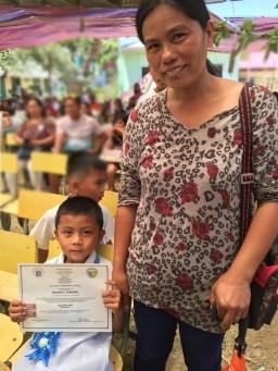 nilson graduates kindergarten