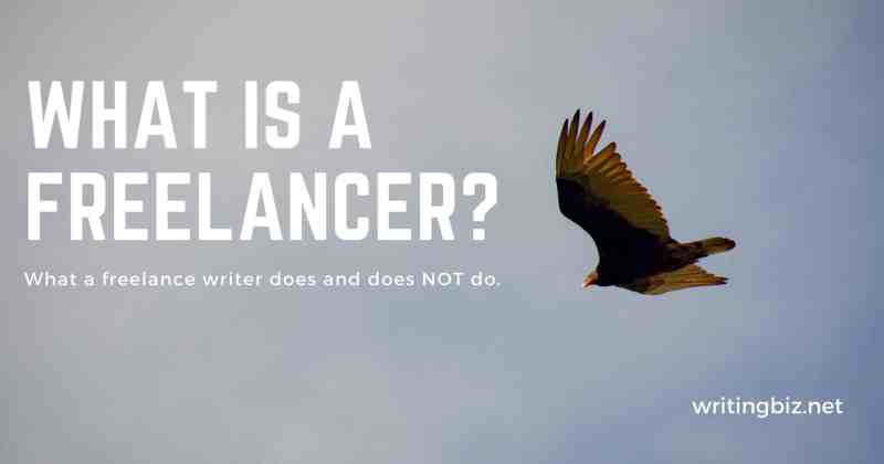what is a freelancer? by Melinda J. Irvine