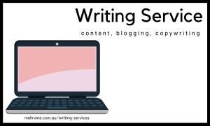 Hire a writer today. Melinda J. Irvine on melirvine.com.au_writing-services