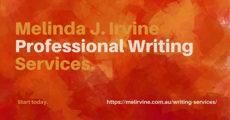 Professional Writing Services @ Melinda J. Irvine