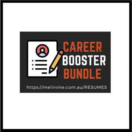 career booster bundle @ Melinda J. Irvine