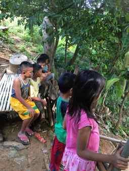 kids wait for rosemary