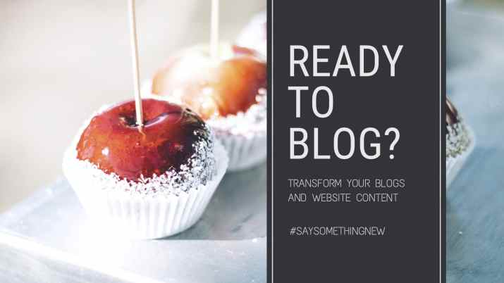transform your blogs and website content @ melirvine.com.au