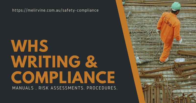 WHS writing and compliance @ Melinda J. Irvine