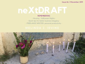 neXtDRAFT an eZine by Melinda J. Irvine Issue 66.