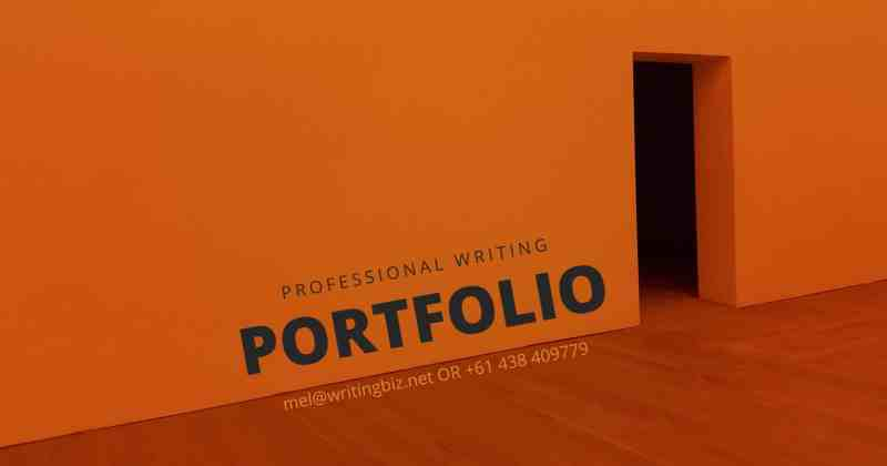 professional writing portfolio of Melinda J. Irvine