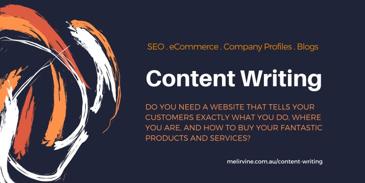 SEO content writing service with Melinda J. Irvine