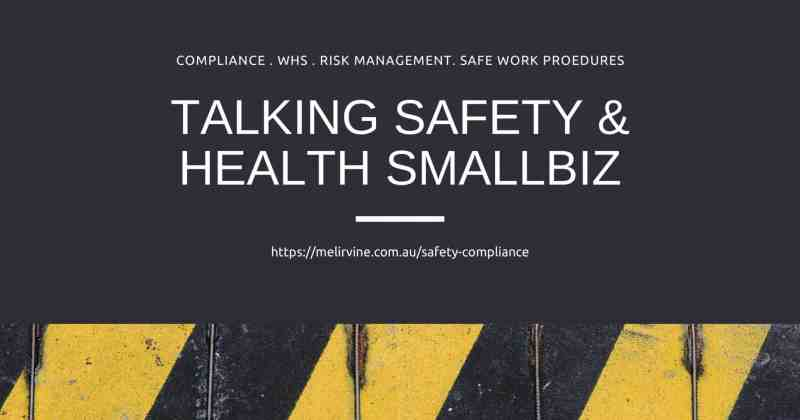 talking safety and health smallbiz with Melinda J. Irvine