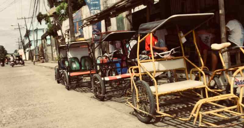 pedicabs and tricycles