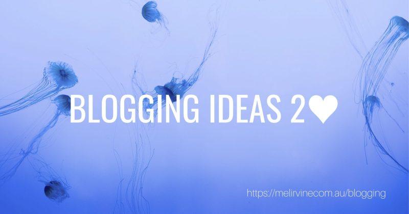 10 business blog topics @ Melinda J. Irvine