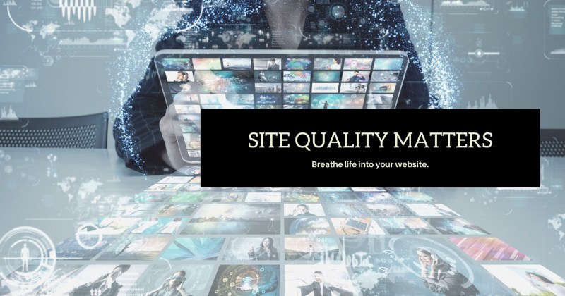 do you have a quality website_ by Melinda J. Irvine