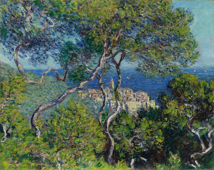 Bordighera by Claude Monet. 1884. Public Domain image sourced from Art Institute Chicagowebsite.