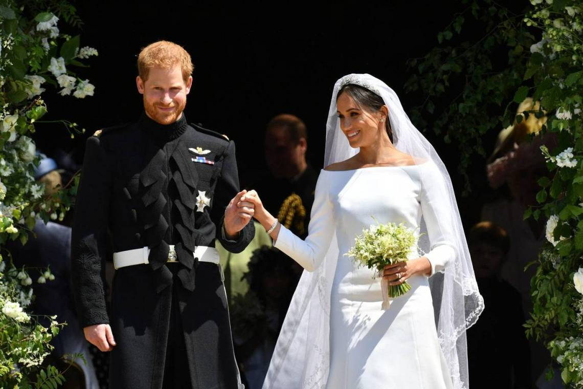 El vestido de novia de Meghan Markle