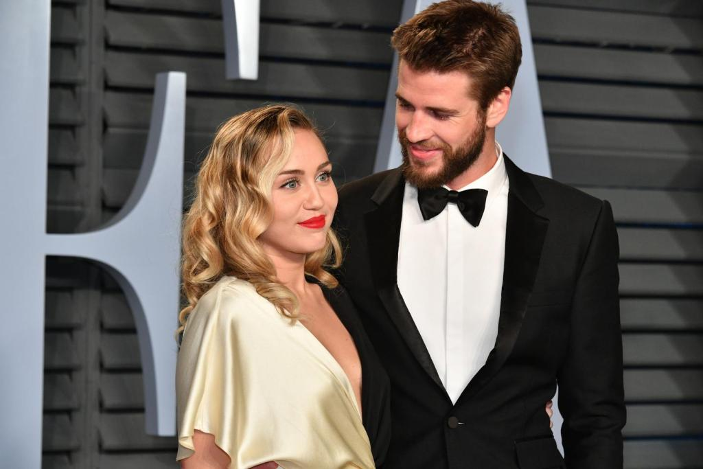 Miley Cyrus y Liam Hemsworth boda