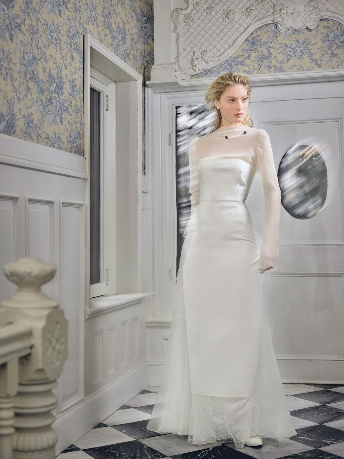 Vestidos de novia con manga larga 2019