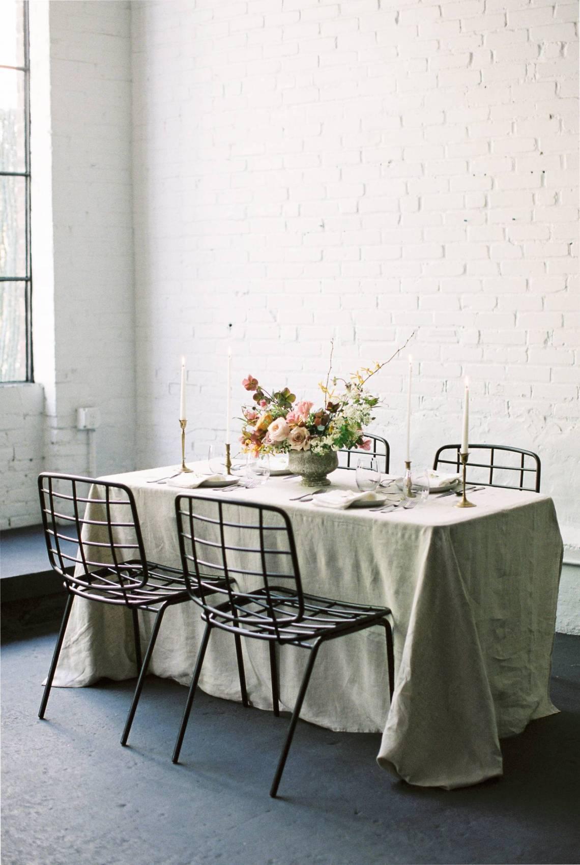 Cómo decorar una boda minimalista