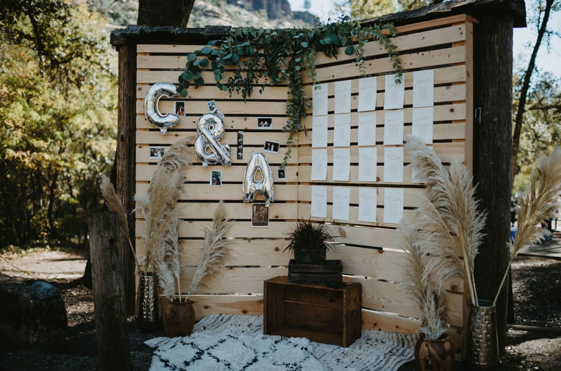 Cómo sentar a los invitados en el banquete de la boda