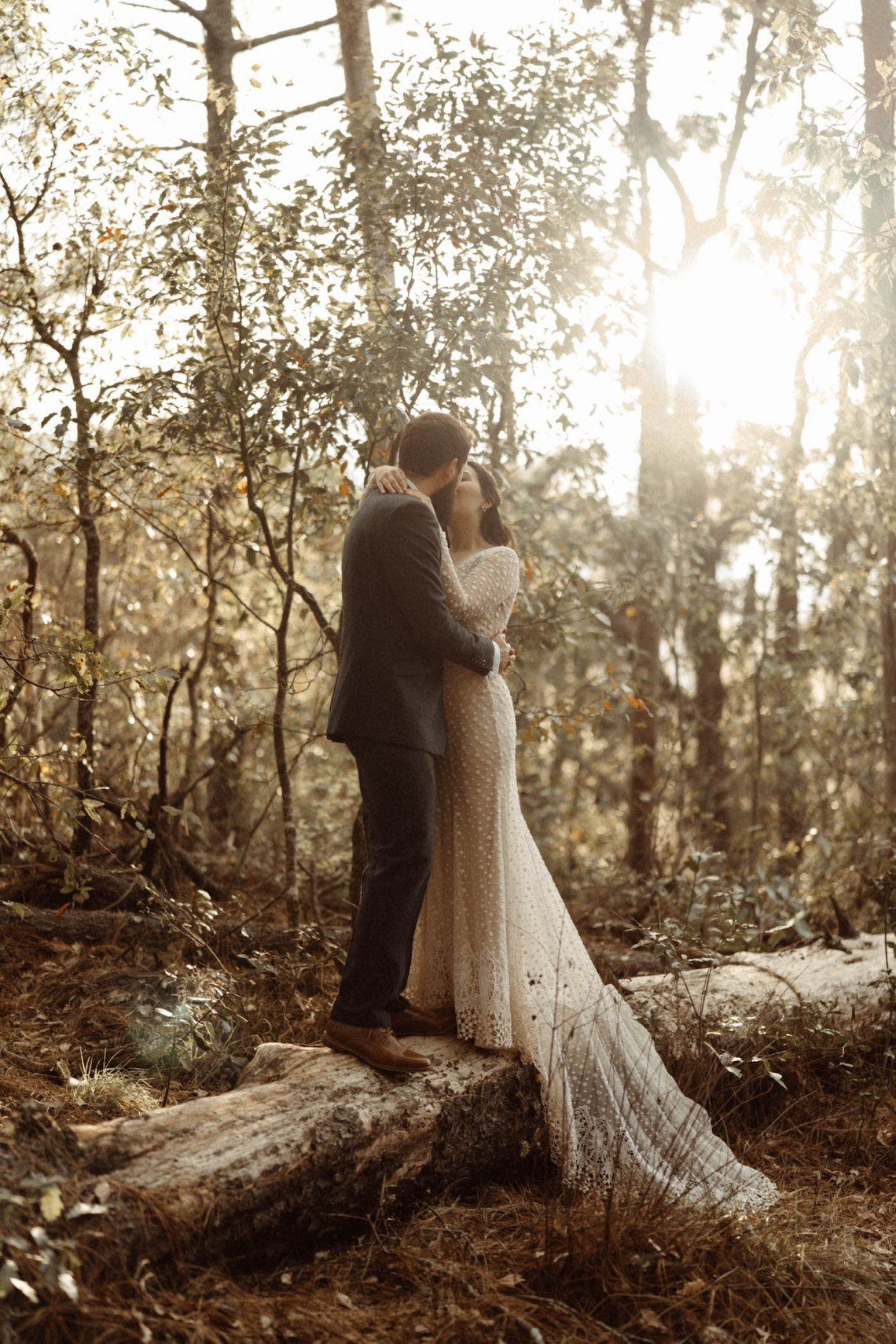 Love session alternativa en el bosque