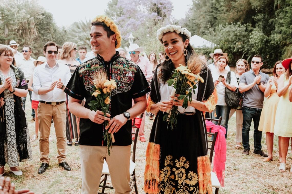 Ceremonia purépecha, boda purépecha