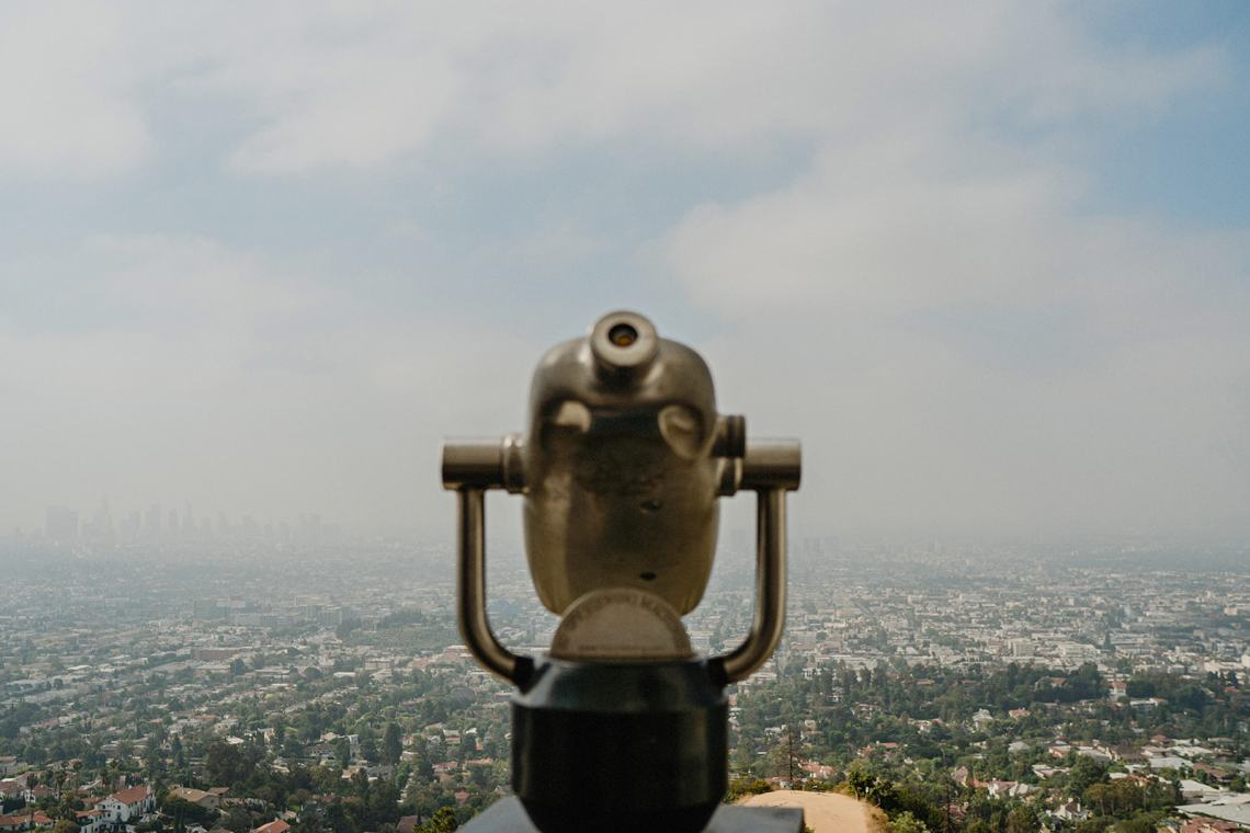 Elopement en Griffith Observatory Los Angeles