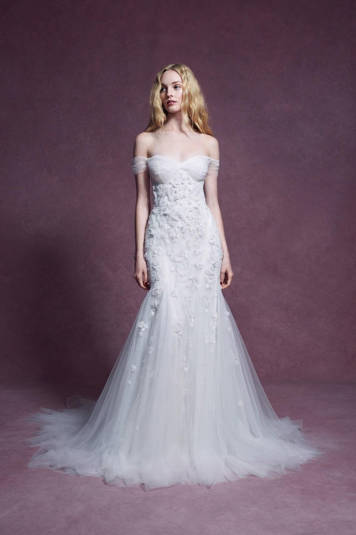 vestidos de novia Marchesa otoño 2020