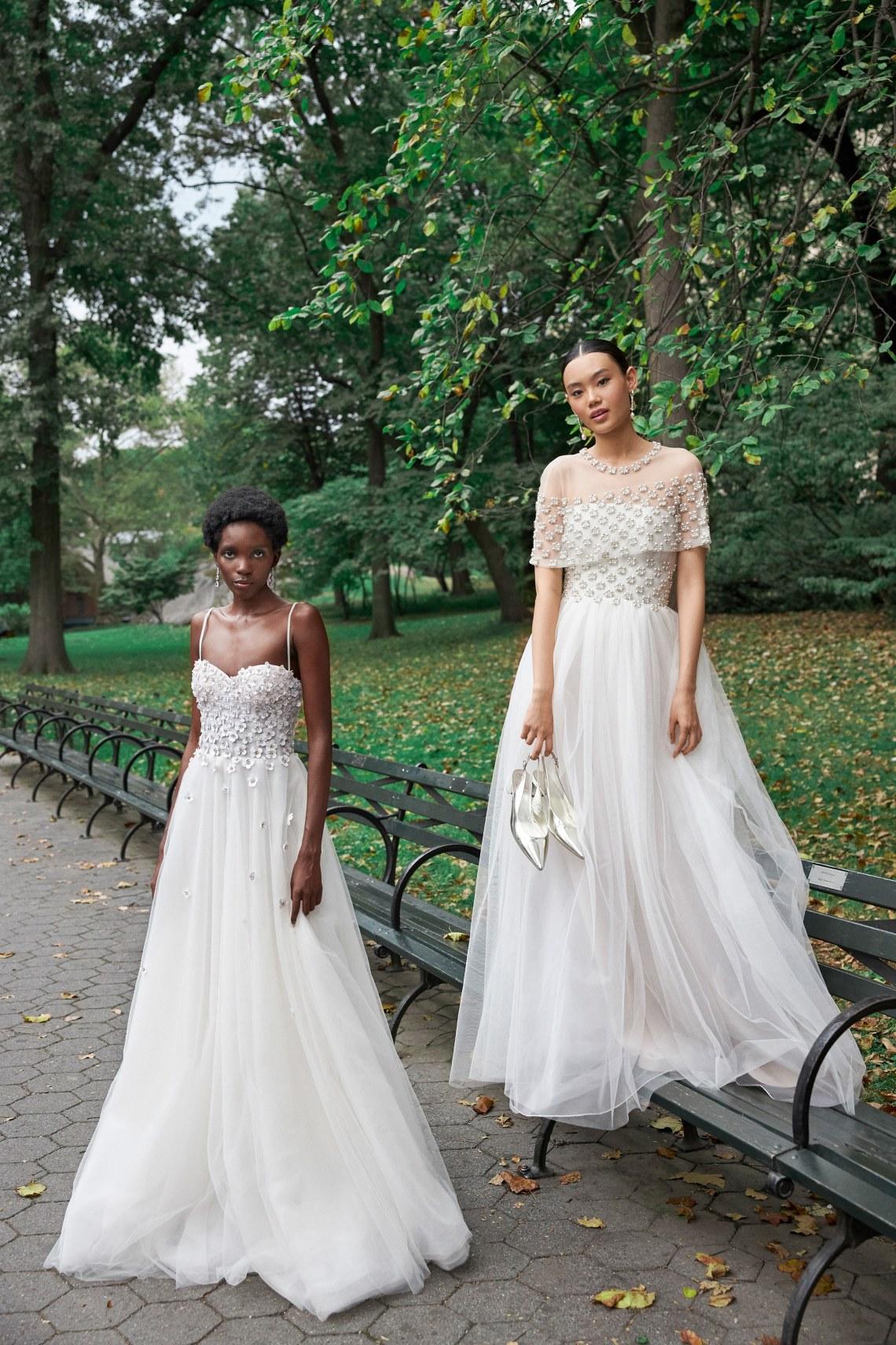 Vestidos de novia Reem Acra otoño 2020