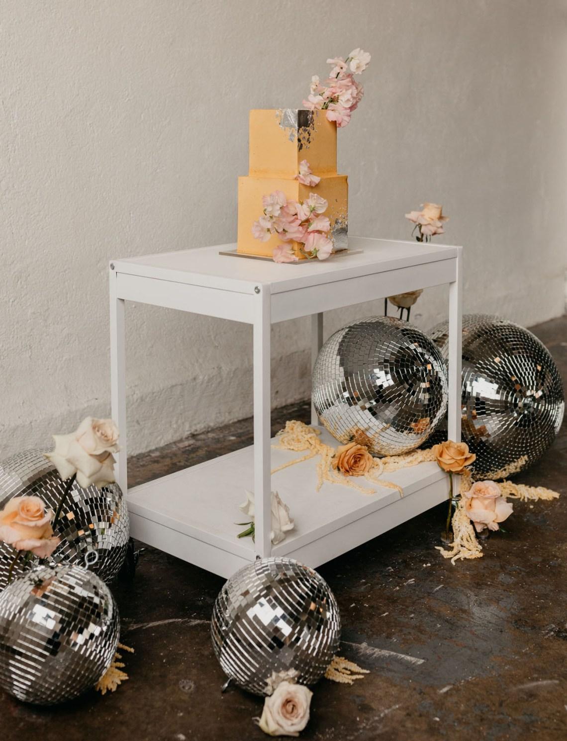 Bolas disco para boda