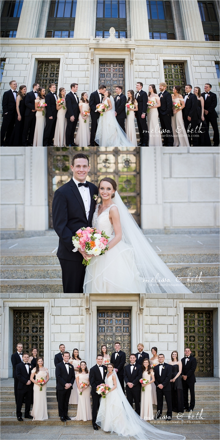 Hilton President Hotel Wedding Kansas City Wedding