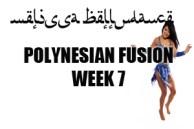 POLYNESIAN BELLY DANCE FUSION WK7 JAN-APR2017