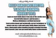 BELLY DANCE INSTRUCTOR TEACHER TRAINING U.K