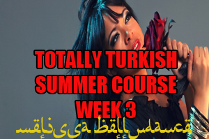 SUMMER 4 WEEK TOTALLY TURKISH WK3 AUGUST 2020