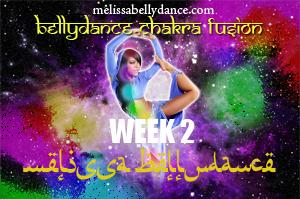 BELLY DANCE CHAKRA FUSION WK2 SEPT-DEC 2019