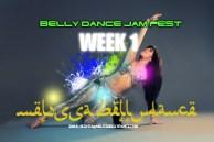 BELLY DANCE JAM FEST SUMMER 4 WEEK COURSE WK1
