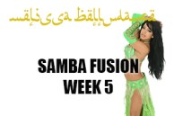 SAMBA FUSION  WK5 SEPT-DEC 2018