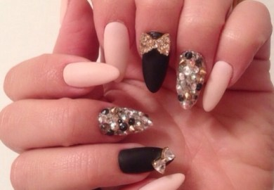 Jewel Nail Art Designs