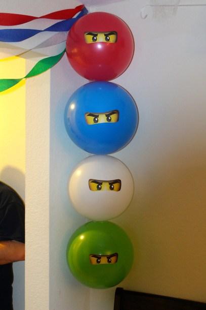 The 4 Ninjago Ninjas!