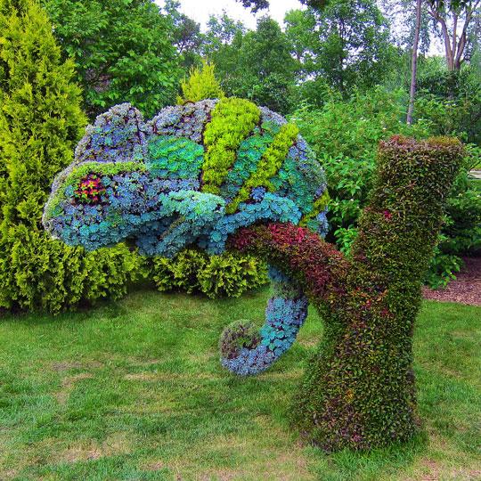October 6 – Topiary Gardens