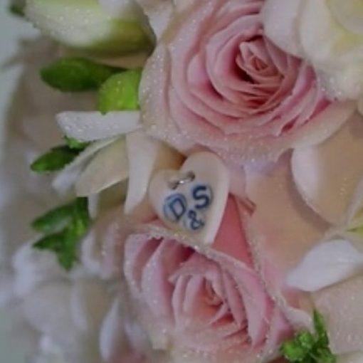 something blue wedding charm